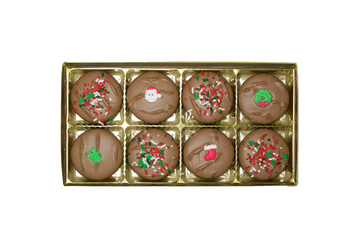 Christmas Chocolate Covered OREO ® Cookies - Rosalind Candy Castle