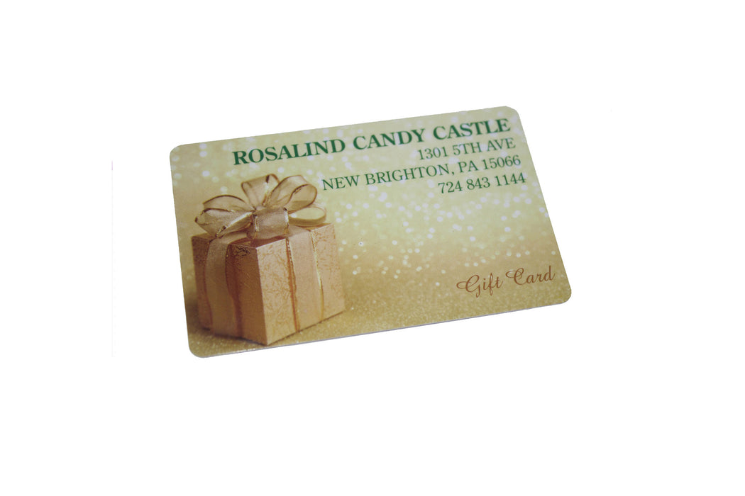Gift Cards - Rosalind Candy Castle