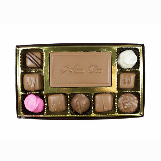I Love You 10 Piece Box - Rosalind Candy Castle