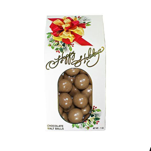 Christmas Milk Chocolate Malt Balls