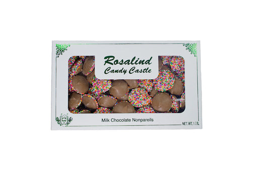 Milk Chocolate Nonpareils - Rosalind Candy Castle