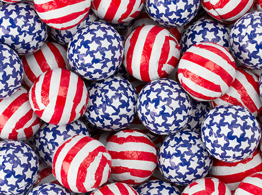 Foiled Patriotic Chocolates
