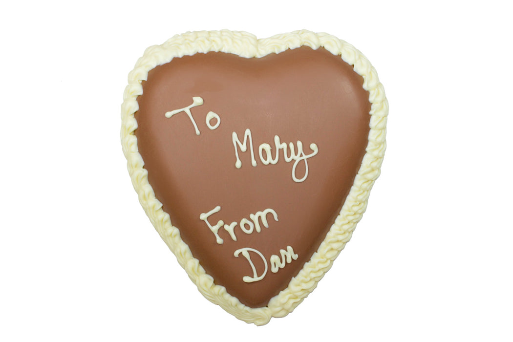 Large Personalized Heart - Rosalind Candy Castle