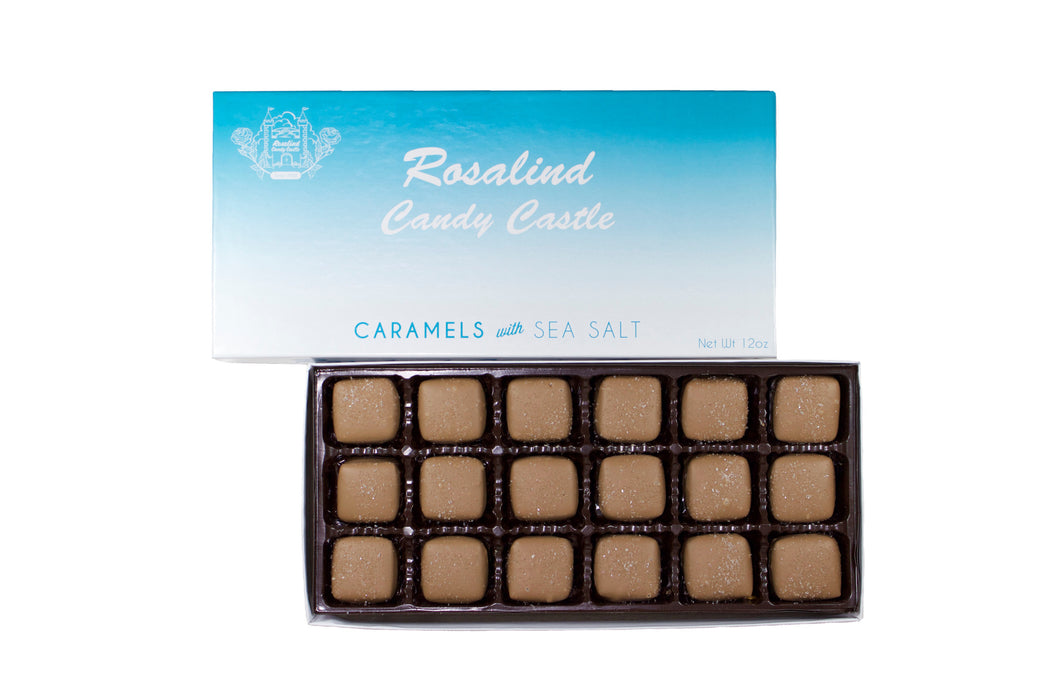 Caramels with Sea Salt - Rosalind Candy Castle