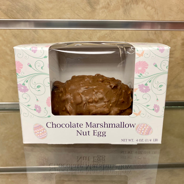 4oz Chocolate Marshmallow Nut Egg
