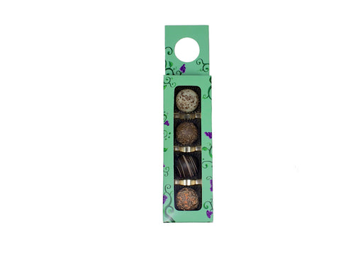 Wine Hanger with Truffles - Rosalind Candy Castle