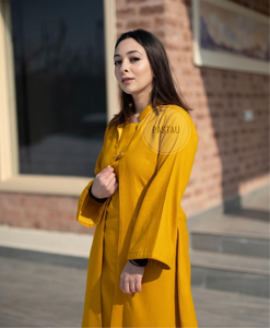 Pure pashmina blend 3pc dress stitched
