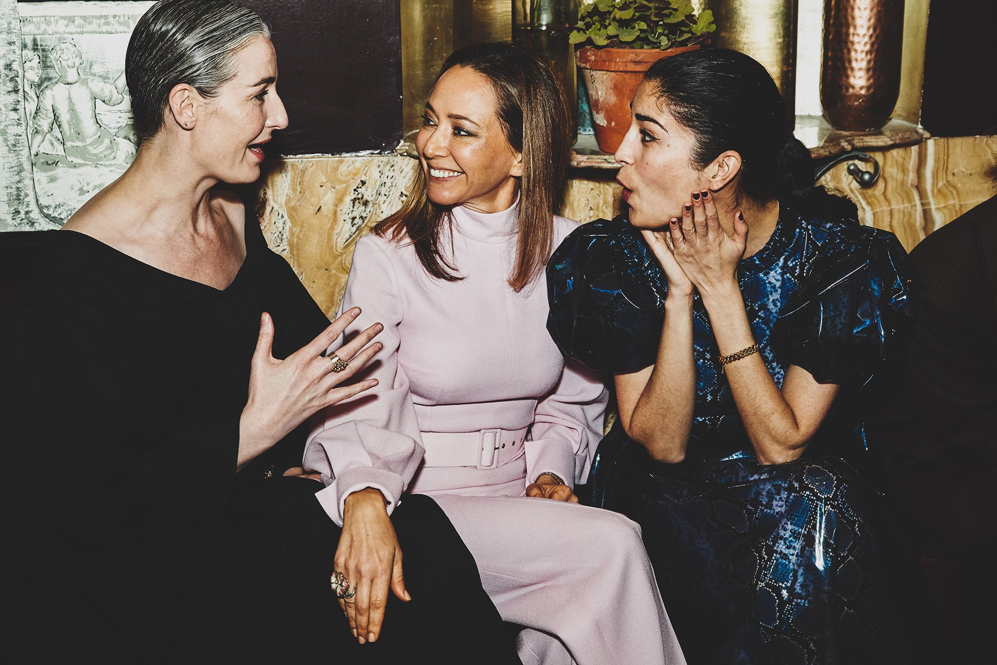 Erin O Connor & Caroline Issa - An Evening at Claridges with Emilia Wickstead