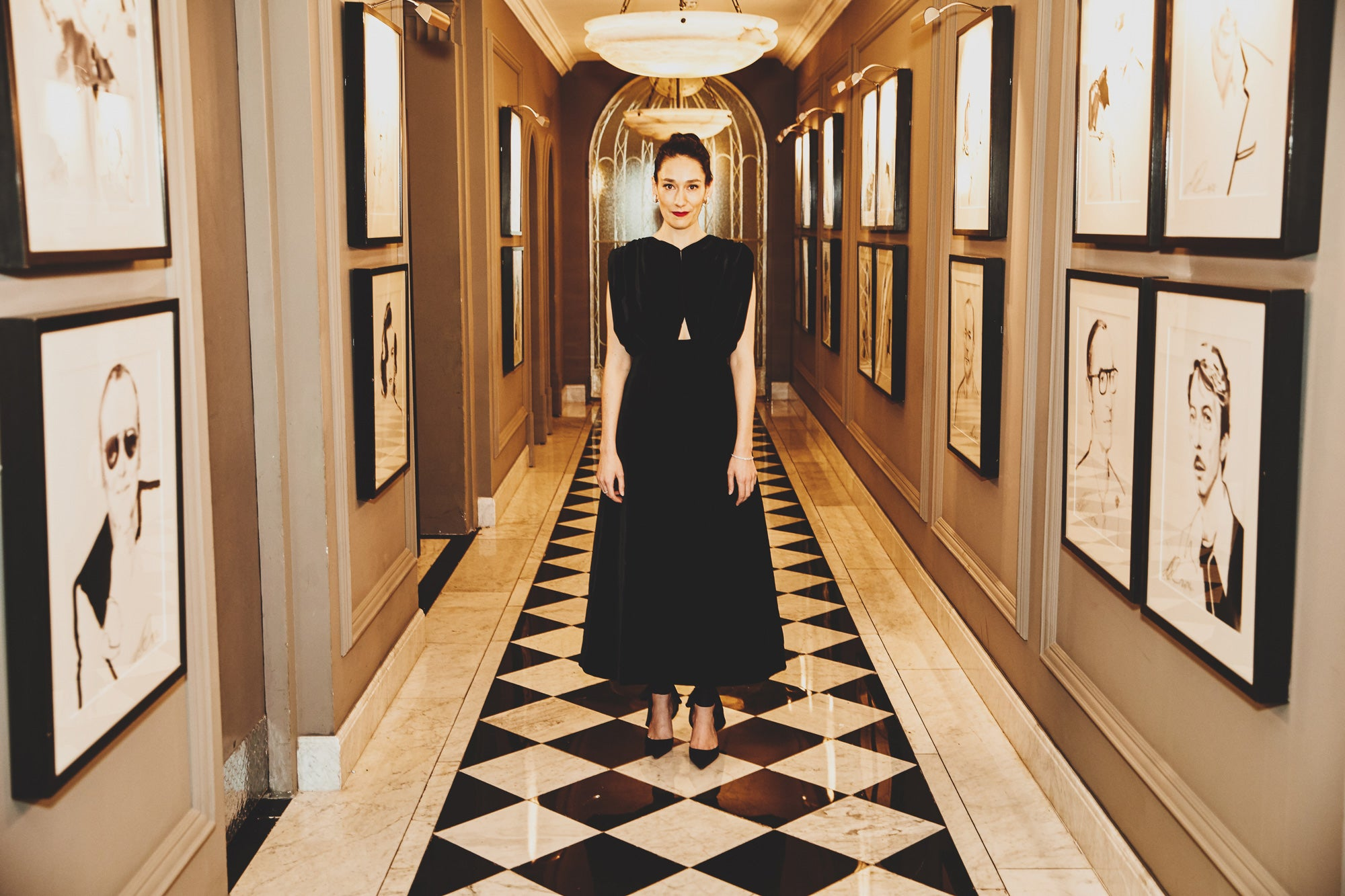 Sian Clifford -  An Evening at Claridges with Emilia Wickstead