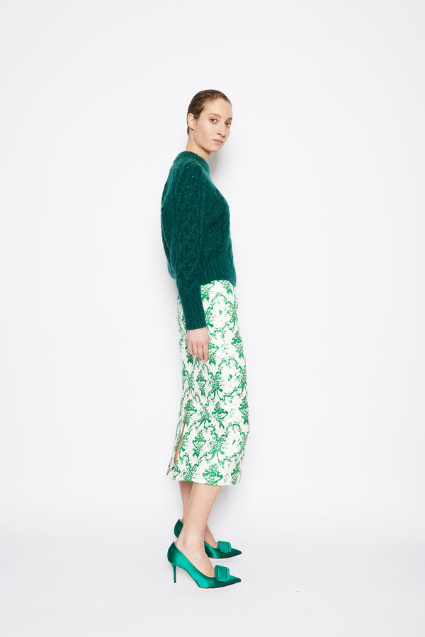 Emory Wool Sweater Green