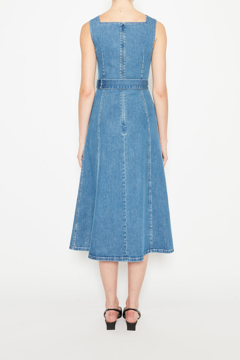 Petra Denim Dress Blue