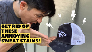 How To Clean Sweat Stains From Your Running Hat (Save Your Fav Hat!)