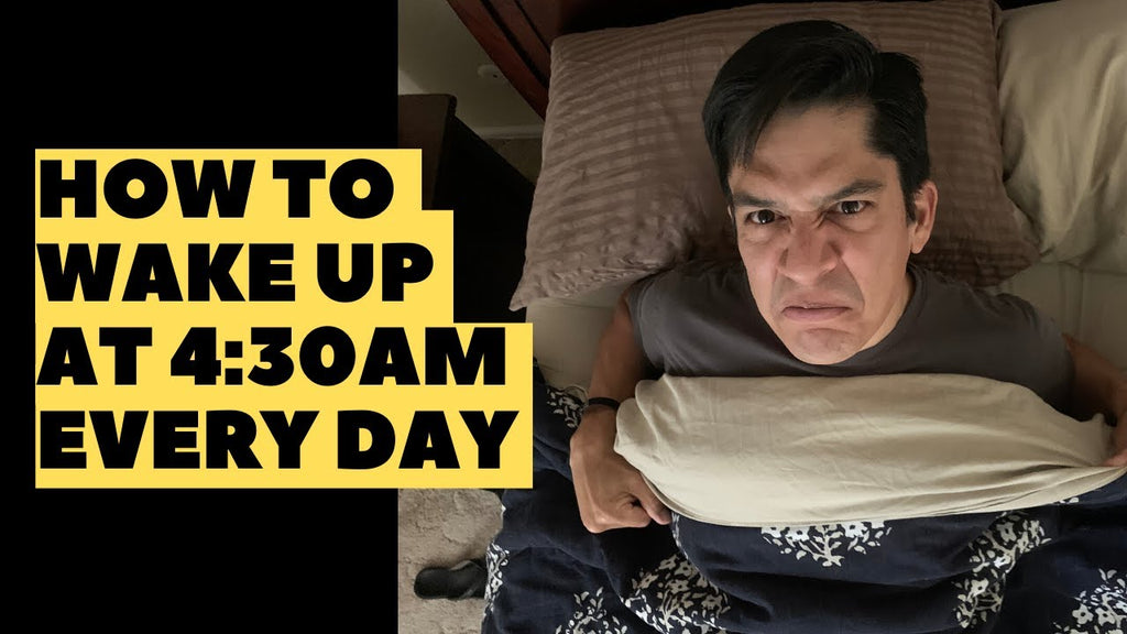 How To Wake Up At 5am OR EARLIER And Win The Day