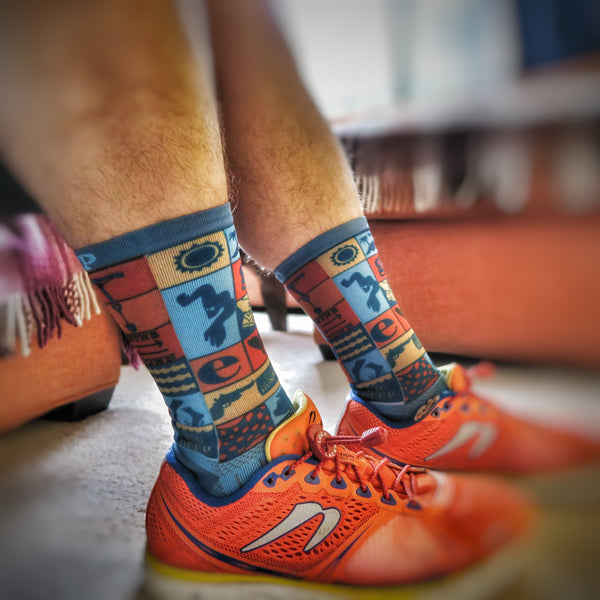 Dig Deep Socks featuring TriLife Design