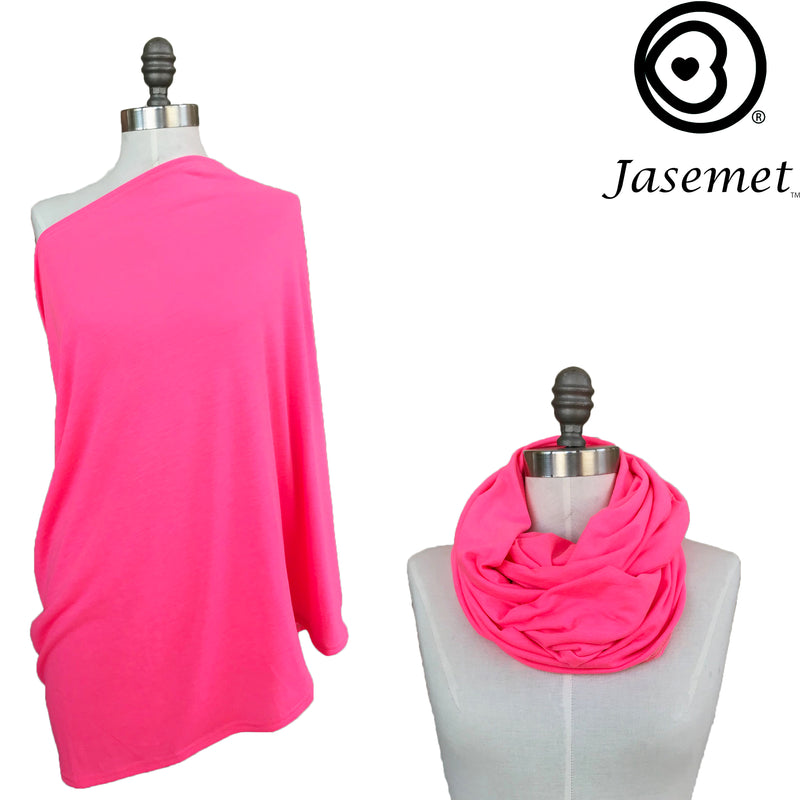 Nursing Scarf - HOT PINK