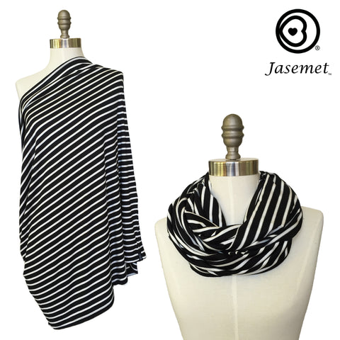 Nursing Scarf - Modern Stripes
