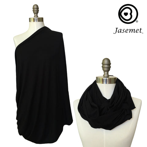 Nursing Scarf - Basic Black