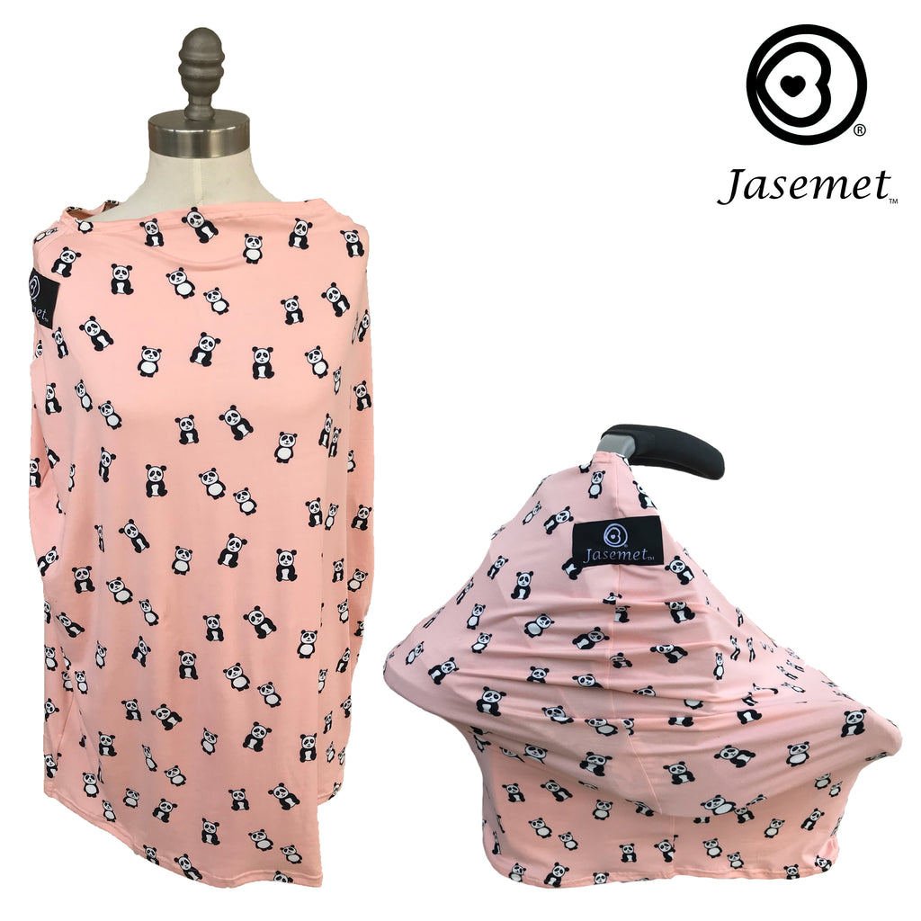 Jasemet Cover - PEACH PANDA