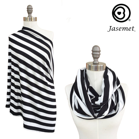 PRE-SALE Nursing Scarf - MODERN STRIPES