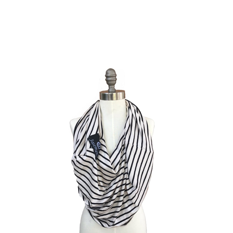 Jasemet Cover - STONE CLASSIC STRIPES