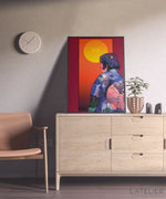 Charger l'image dans la galerie, Affiche,50x70 cm, SUNSET - collection LIGHT