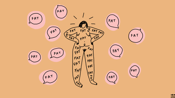 Fat is not a bad word by Ashleigh Shackleford.
