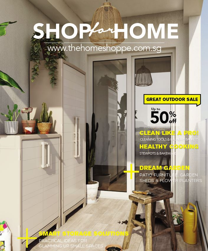 Shop For Home 2020 Catalogue - Outdoor Furniture Homeware Storage Cabinet (The Home Shoppe)