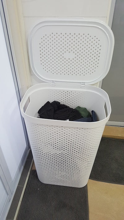 curver infinity laundry hamper 60l