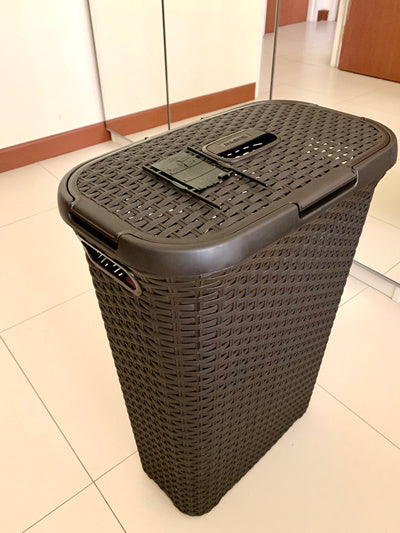 Curver Style Laundry Hamper 40L with Lid