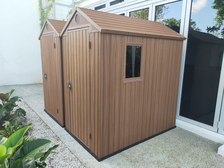Outdoor Garden Storage - Keter Darwin Shed 6 x 4