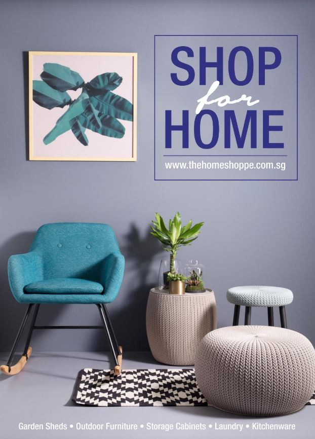 Shop For Home 2018 Catalogue - Homeware Outdoor Furniture Storage Cabinet  (The Home Shoppe)