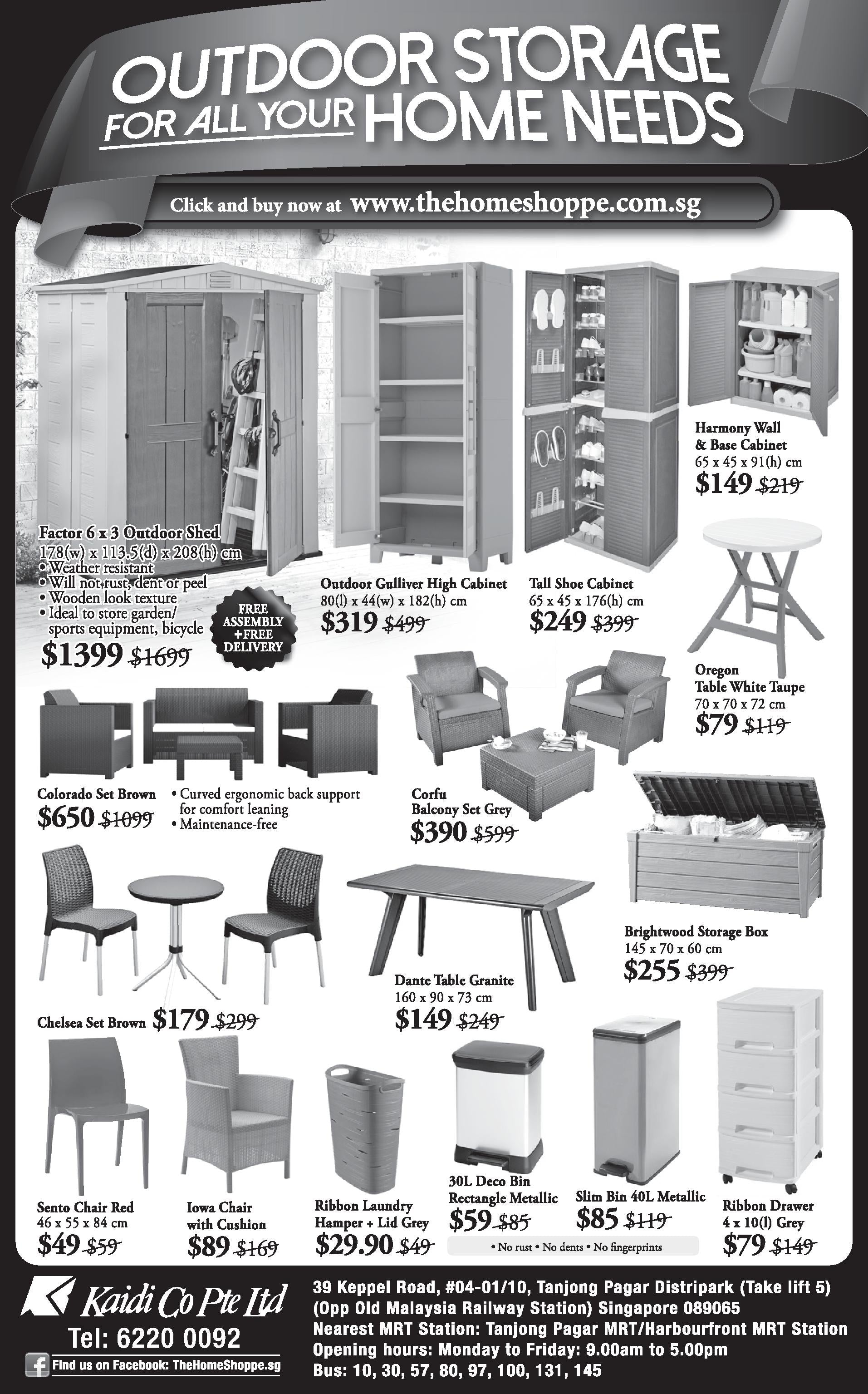 thehomeshoppe october promotion 2015