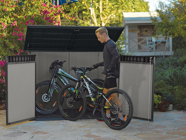 Keter Outdoor Grande Shed Bike Storage