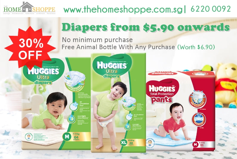Huggies diapers baby products sale promotion sg drypers