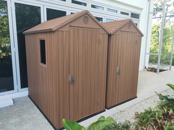 Keter Darwin Shed 6 x 4 outdoor garden storage shed waterproof