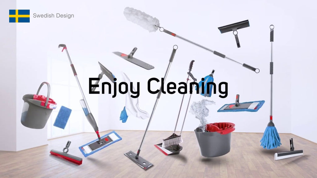 Nordic Stream spray mop cleaning tools pails mopping kit sg