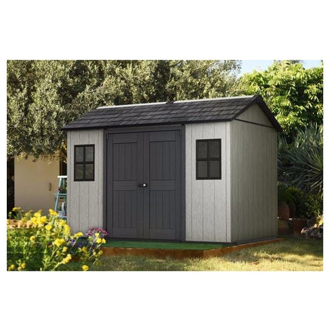 Keter Oakland 1175 SD Outdoor Shed (Free delivery and assembly)
