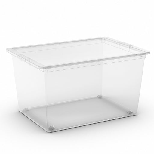 C Box Transparent XL w/ Lid and wheels