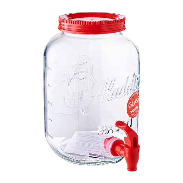 Glass Mason Beverage Dispenser