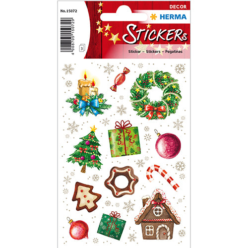 Stickers Christmas Time (15072)