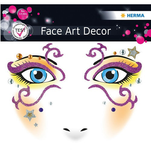 Face Art Sticker Mystery (15301)