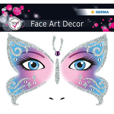 Face Art Sticker Butterfly