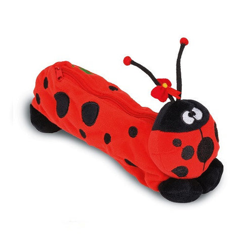 Funny Animals Pencil Case Ladybird