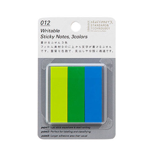 Writable Sticky Notes B