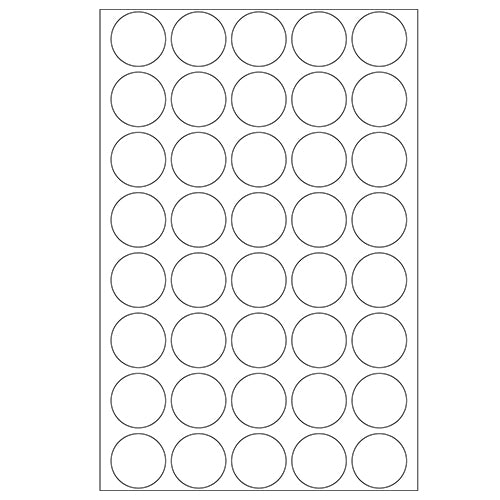 Herma 2279 Seal Labels Perforated Extra Strong Adhesive Matte Film 240 Labels...