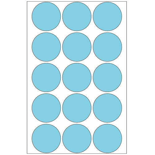Office Pack Multi-purpose Labels Round 32mm Blue (2273)
