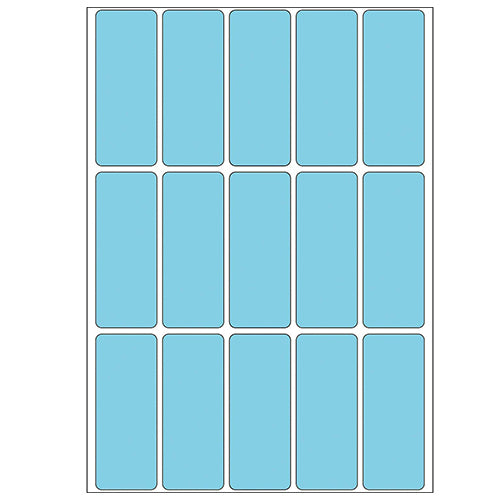 Office Pack Multi-purpose Labels 20 x 50mm Blue (2413)