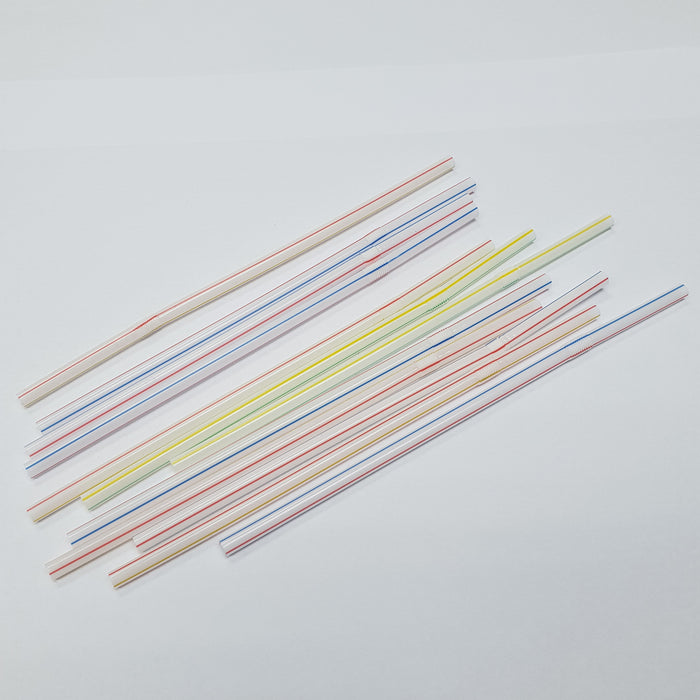 "8"" Flexible Straws Asstd Colour Carton (10, 000 pieces)"