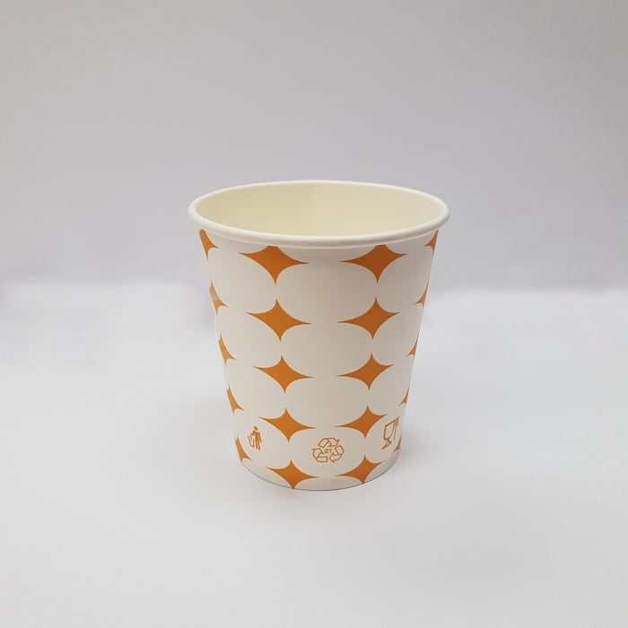 6 Oz White Paper Cup Carton (2, 500 pieces)
