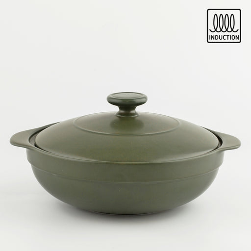 Luna Induction Dutch Oven + Lid 2L